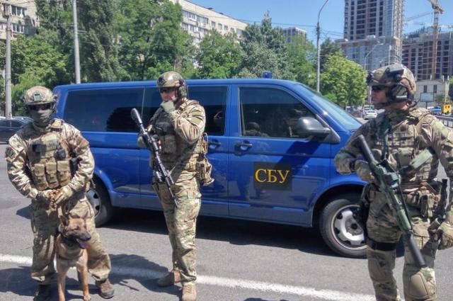 В Киеве улицы патрулирует спецназ СБУ «Альфа»