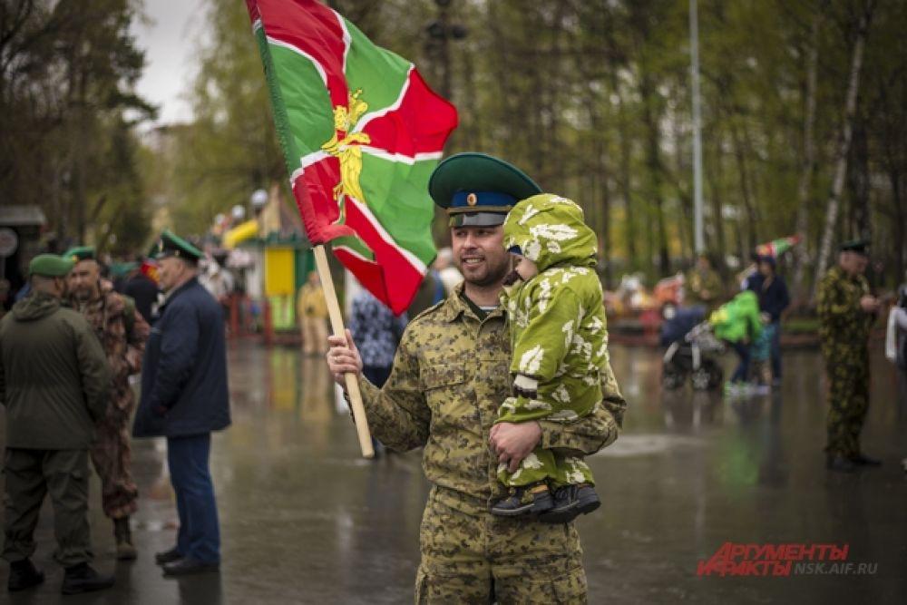 Праздник провело Пограничное управление ФСБ России по НСО вместе с департаментом культуры, спорта и молодежной политики мэрии Новосибирска.