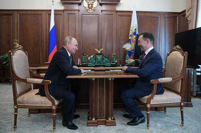 Путин назначил врио руководителя Якутии Айсена Николаева