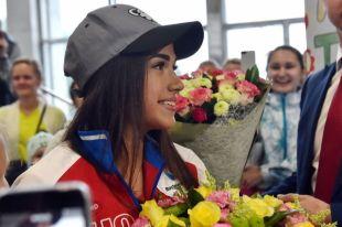 Алина Загитова пообещала и дальше побеждать в соревнованиях.