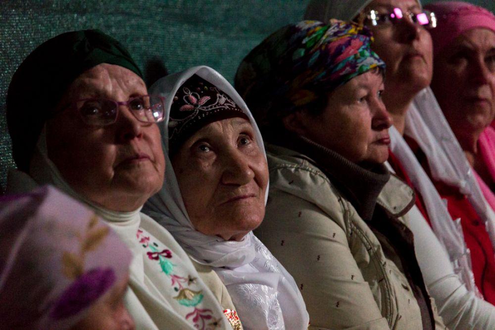 В женском ифтаре приняли участие представительницы мусульманских организаций.