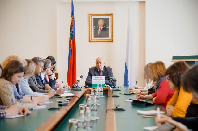 Сергей Цивилев провел брифинг по итогам ПМЭФ-2018.