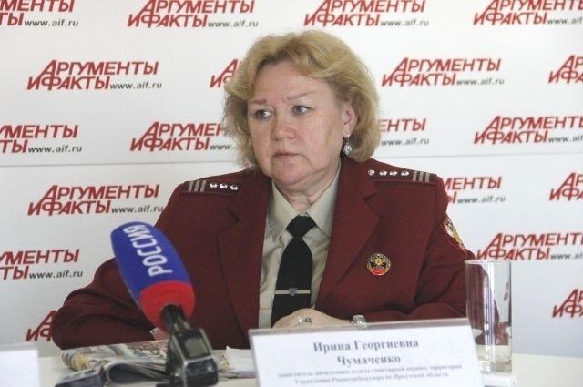 Ирина Чумаченко.