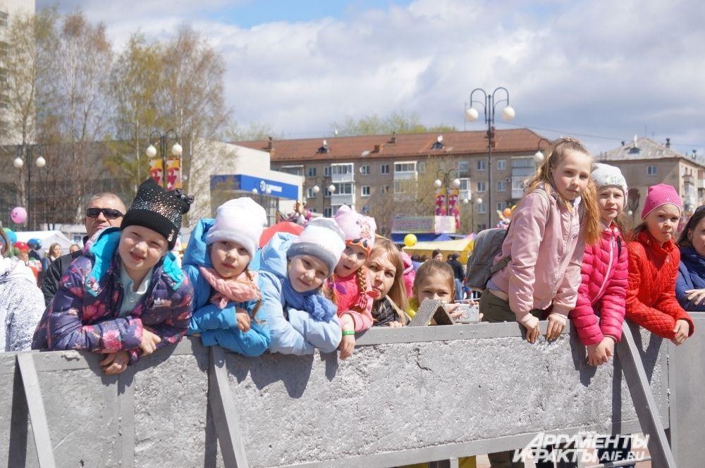 За первой частью концертной программы дети следили с особым интересом.