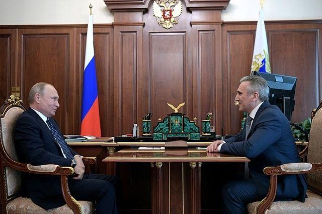 Александра Моора назначили врио губернатора Тюменской области