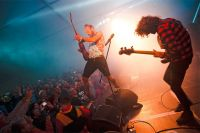 На «Дикой мяте» играют не только на гитарах, но и в футбол, волейбол, бейсбол.
