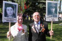 Тагир Наумедзянов с женой. Он защищал страну от последствий аварии на ЧАЭС, его отец - от фашизма.