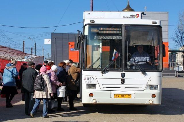 С изменением транспортной схемы автобусов стало не хватать.