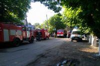 В тушении пожара принимали участие 4 единицы техники, 4 добровольца и 12 человек личного состава.