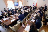 На заседании обсудили промежуточные итоги работы.