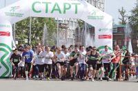 Свыше 1 тысячи человек стали участниками забега.