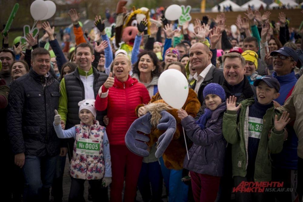В марафоне приняли участие 54 города России.