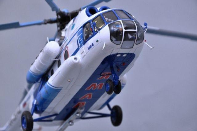 Первый вертолет улетел в Лабытнанги