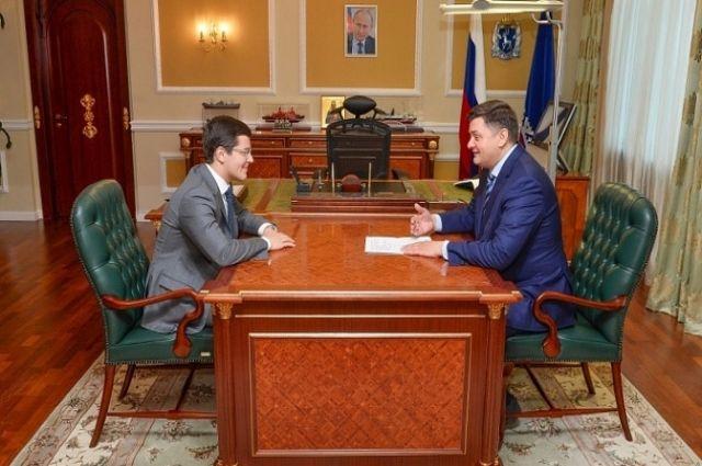 Первый рабочий день врио губернатора Ямала начался с поздравлений