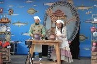 Иркутские актёры выступили на открытых площадках Москвы.