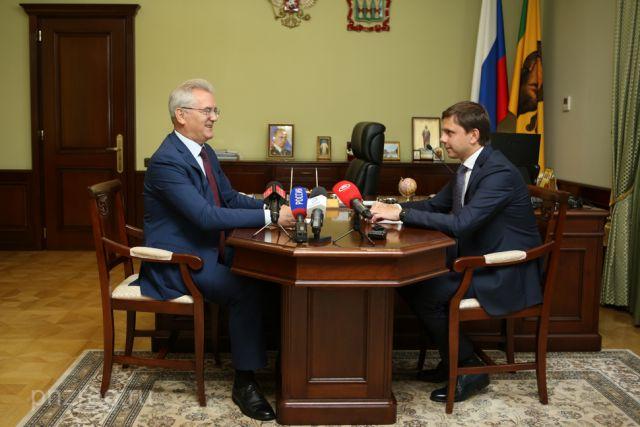 Иван Белозерцев и Андрей Клычков.