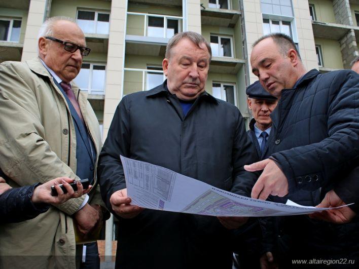 Инспекция проблемного объекта – ЖК «Демидов Парк».