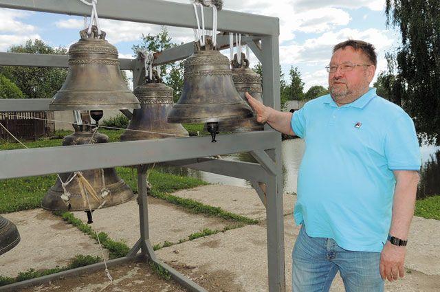 Литьё колоколов стало главным делом жизни Николая Шувалова.