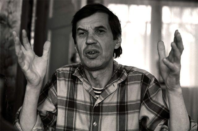 Георгий Бурков в фильме «Башня» Виктора Трегубовича. 1987 г.