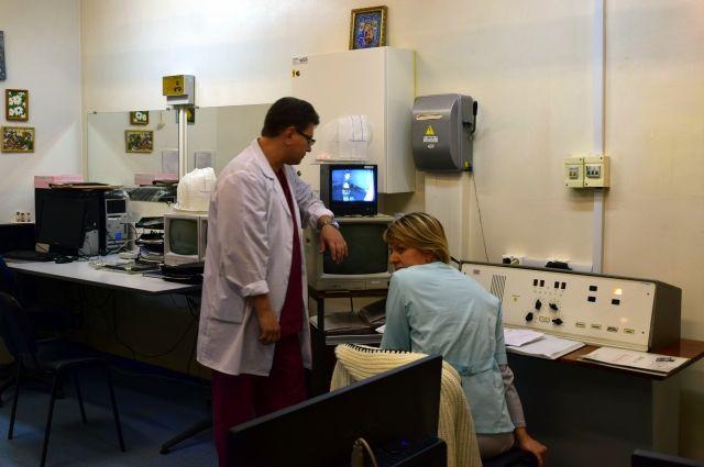 Врачи онкодиспансера вынуждены работать на давно устаревшем оборудовании.