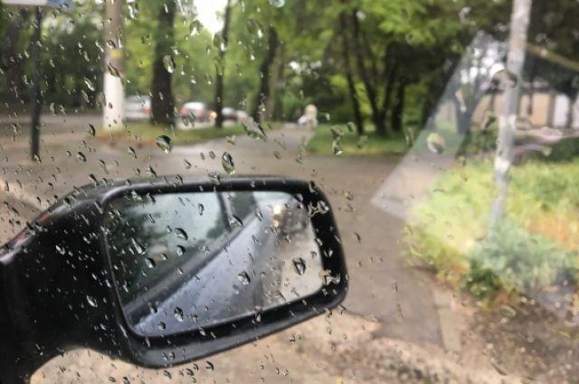 На Кемеровскую область надвигается непогода.