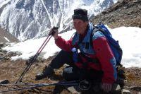 Леонид Букрин с одинаковым энтузиазмом путешествует и по равнине, и по горам.