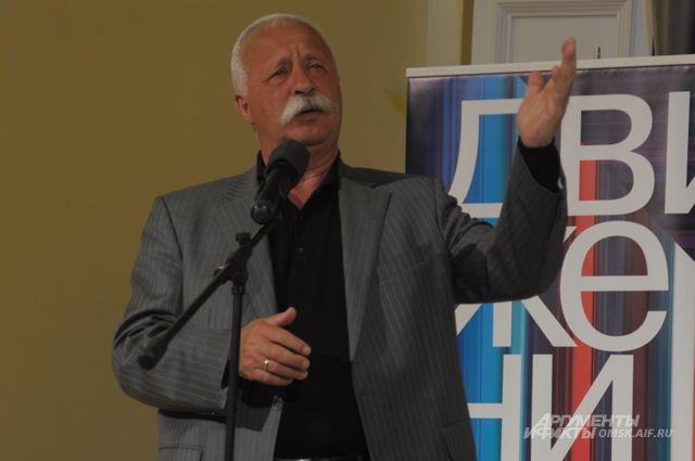 Леонид Якубович часто бывает в Омске.
