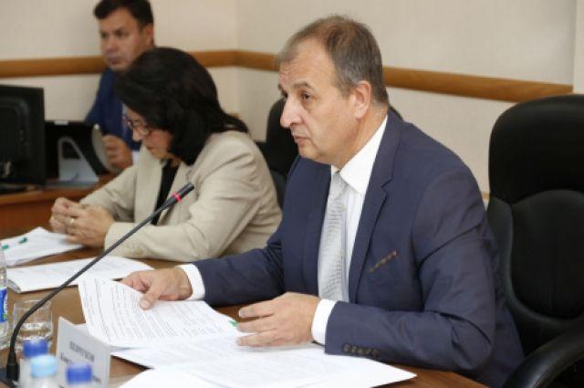 Председатель городской Думы Константин Пенчуков