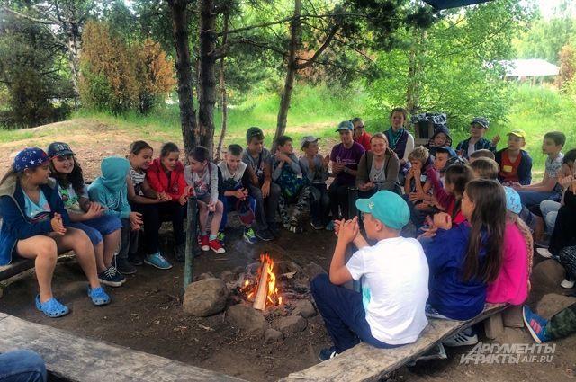 Летние лагеря разных форм досуга будут работать в Омской области.