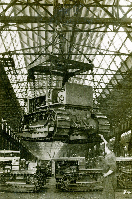 1938 год. Так выглядел главный конвейер.
