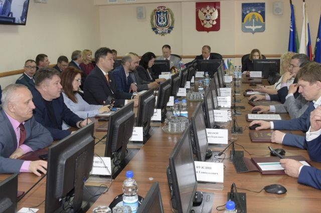 Заседание Думы Ханты-Мансийска