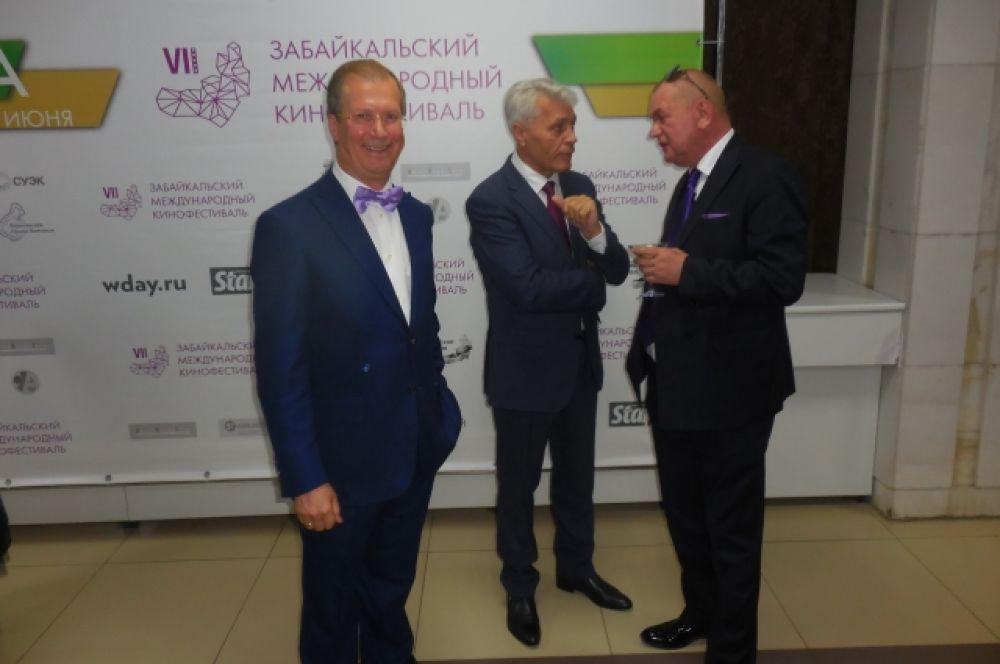 Виктор Шкулёв - председатель оргкомитета кинофестиваля.
