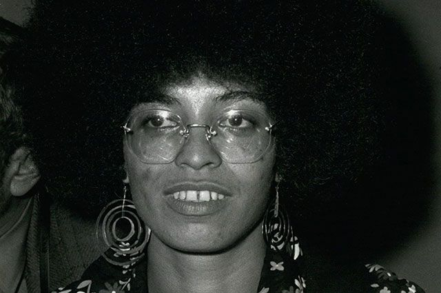 Анджела Дэвис, 1972 г.