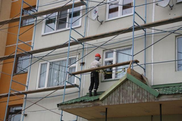 В Салехарде капитальный ремонт идет в девяти домах