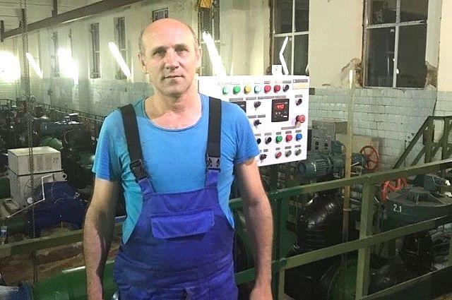 Владимир Путин работает на водоканале в Армавире.