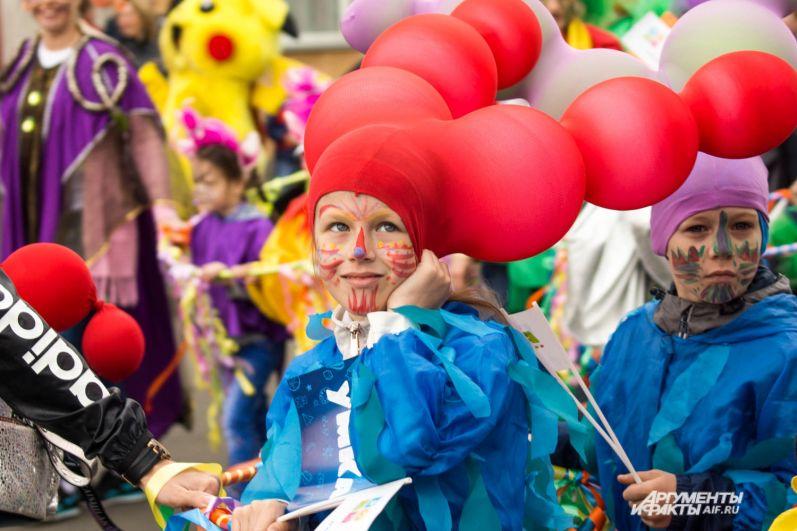 В этом году карнавал прошёл в стиле фэнтези.