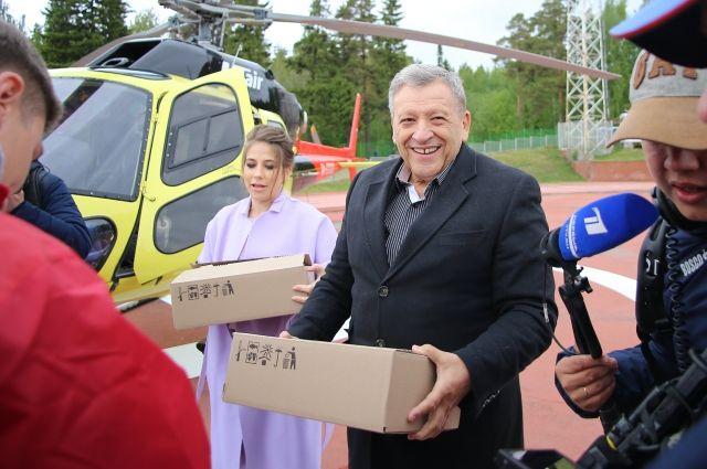 Звёзды телевидения приехали в столицу Удмуртии на благотворительную акцию «Стань первым!»