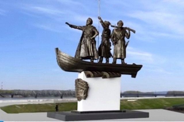 В Новокузнецке появится памятник «Первопроходцы земли Кузнецкой».