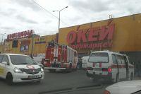 Торговый центр после происшествия не закрылся.