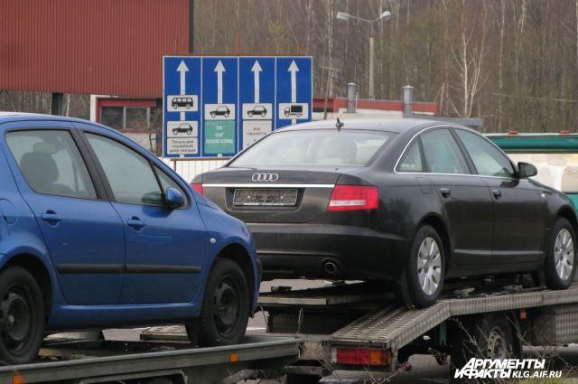 Назван средний возраст легковых автомобилей в Калининграде.