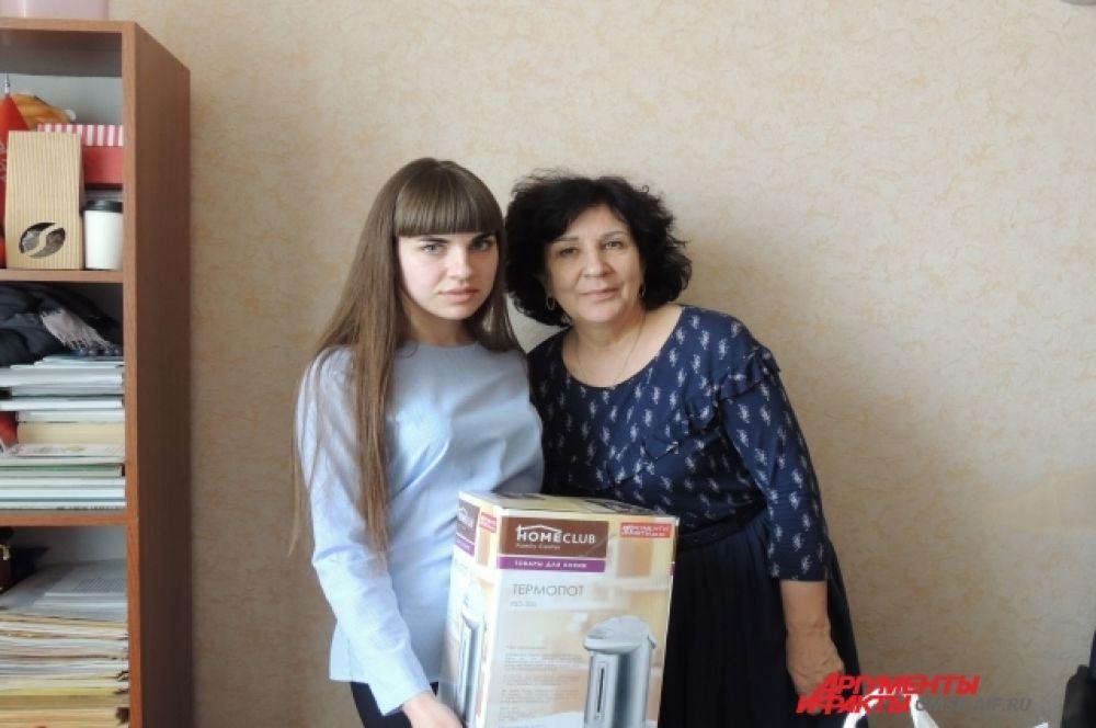 Кристина Галямова и Ольга Сурадеева. 1 место