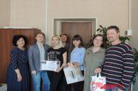Победителей наградили в редакции