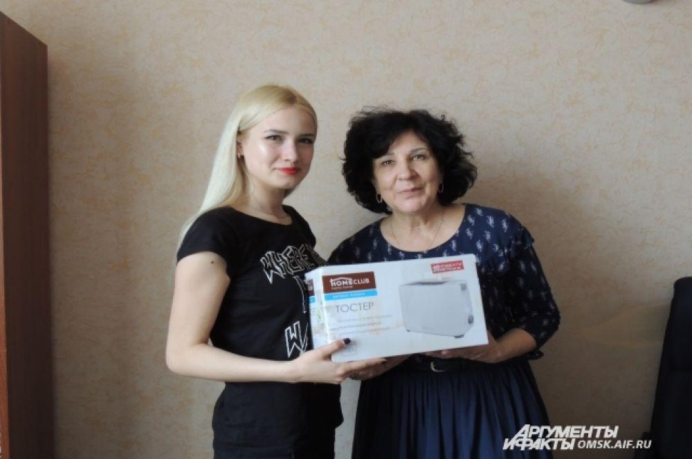 Екатерина Плоховец и Ольга Сурадеева. 2 место