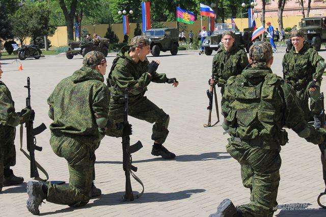 Округ на мероприятии представила команда «Патриот».