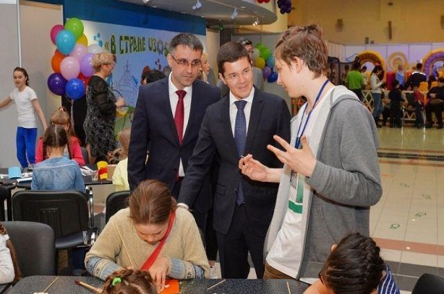 Врио губернатора Ямала познакомился с юными северянами