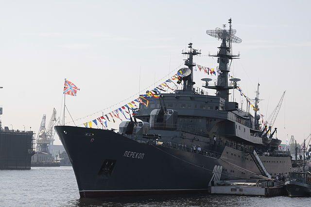 ВоВладивосток после двухмесячного похода прибыл учебный корабль «Перекоп»