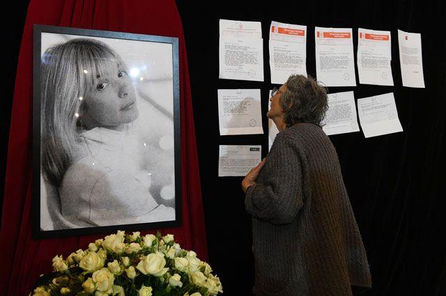 Вера Глаголева посмертно удостоена почётного приза «Кинотавра»