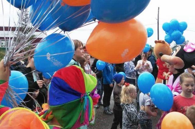 ГК «КАРАКАН ИНВЕСТ» организовала для детей Беловского района праздник.