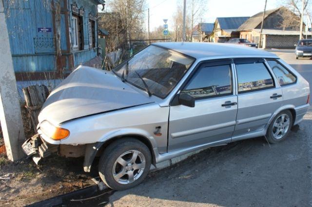 Автомобиль попал в аварию в середине мая.