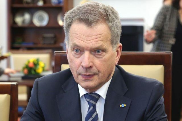 Ниинистё: финны неподдерживают идею вступления вНАТО